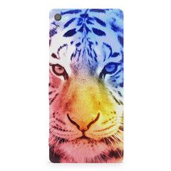 Colourful Tiger Design Sony Xperia XA1 Plus hard plastic printed back cover.