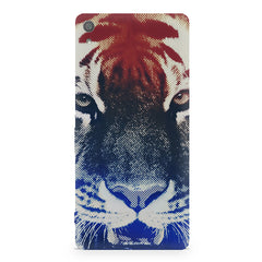 Pixel Tiger Design Sony Xperia XA1 Ultra hard plastic printed back cover.