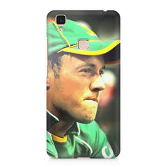 AB de Villiers South Africa  Vivo V3 Max  printed back cover