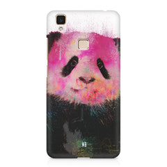 Polar Bear portrait design Vivo V3 hard plastic printed back cover