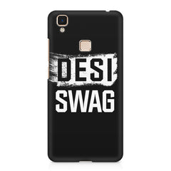 Desi Swag Vivo V3 Max hard plastic printed back cover