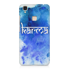 Karma Vivo V3 hard plastic printed back cover