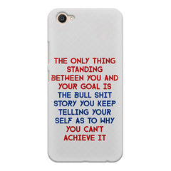 Motivational Quote For Success - Only Thing Between You And Your Goal design,  Vivo Y55L  printed back cover