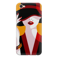 Classy girl  design,  Vivo Y55L  printed back cover