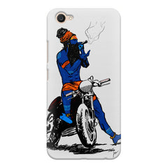 Puff pass  Vivo Y55L  printed back cover