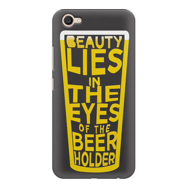 Beer Lovers Perfect Case Design design,  Vivo V5  printed back cover