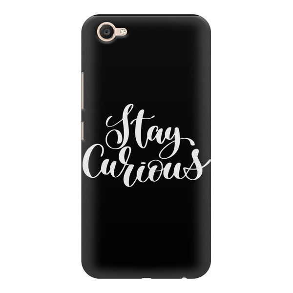 Be curious design Vivo Y55L  printed back cover