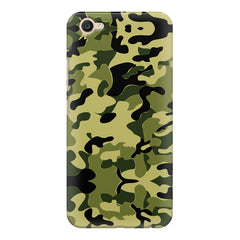 Camoflauge army color design  Vivo Y71 hard plastic printed back cover.