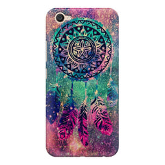 Dream catcher in the Galaxy design/colorful design  Vivo Y71 hard plastic printed back cover.