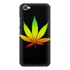 Marihuana colour contrasting design Vivo V5 printed back cover