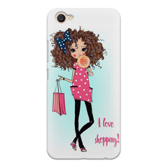 I love shopping quote design Vivo V5 printed back cover
