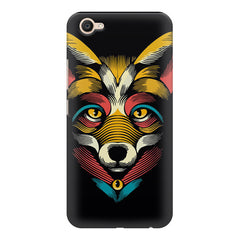 Fox sketch design Vivo V5 printed back cover