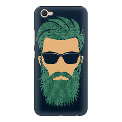 Beard guy with goggle sketch design Vivo V5 printed back cover