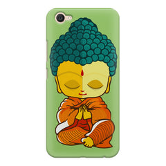 Buddha caricature design Vivo V5 printed back cover