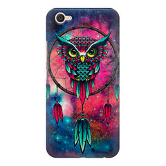 Good luck Owl sketch design    Vivo Y67 hard plastic printed back cover