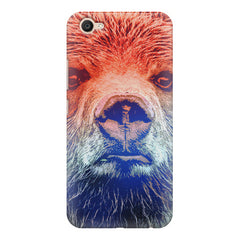 Zoomed Bear Design  Vivo V5 Plus hard plastic printed back cover