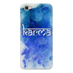 Karma Vivo V5 Plus hard plastic printed back cover