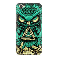 Owl Art design,  Vivo Y55L  printed back cover