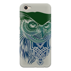 Owl Sketch design,  Vivo Y55L  printed back cover