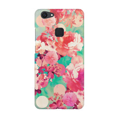 Floral  design,  Vivo V7  printed back cover