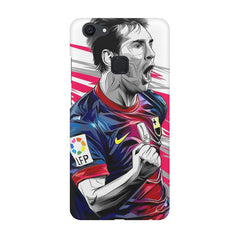 Messi illustration design,  Vivo V7  printed back cover