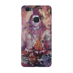 Shiva painted design Vivo V7  printed back cover