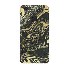 Golden black marble design Vivo V7  printed back cover