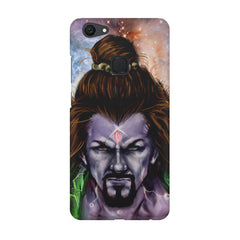 Shiva Anger  Vivo V7  printed back cover