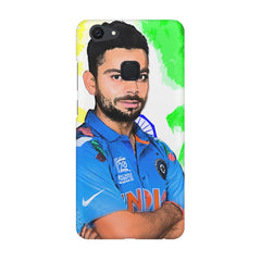 Virat Kohli Oil Painting India design,  Vivo V7  printed back cover
