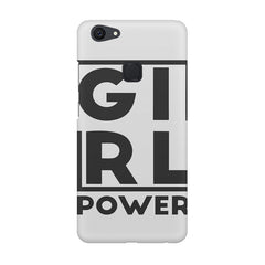 Girl power deisgn Vivo V7  printed back cover