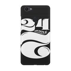 Always hustle design Vivo V7  printed back cover