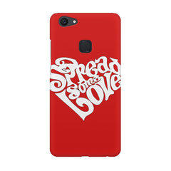 Spread some love design Vivo V7  printed back cover