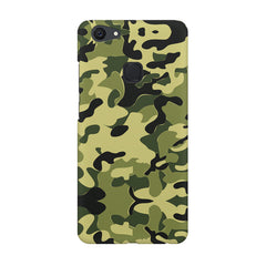 Camoflauge army color design Vivo V7  printed back cover