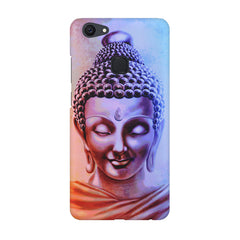 Lord Buddha design Vivo V7  printed back cover