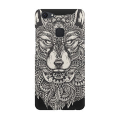 Fox illustration design Vivo V7  printed back cover