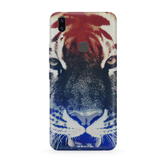 Pixel Tiger Design Moto One Power(P30 Note) hard plastic all side printed back cover.