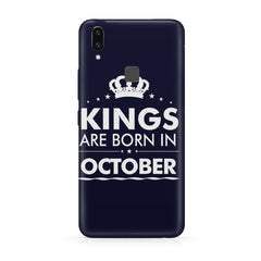 Kings are born in October design all side printed hard back cover by Motivate box Moto One Power(P30 Note) hard plastic all side printed back cover.