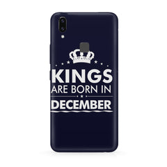 Kings are born in December design all side printed hard back cover by Motivate box Moto One Power(P30 Note) hard plastic all side printed back cover.