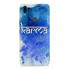 Karma Vivo X21 hard plastic printed back cover