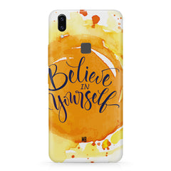 Believe in Yourself Vivo X21 hard plastic printed back cover