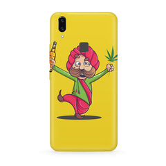 Sardar dancing with Beer and Marijuana  Vivo Y83 Pro hard plastic all side printed back cover.