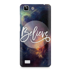 Believe in yourself Vivo X5  printed back cover