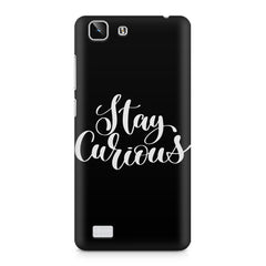 Be curious design Vivo X5  printed back cover