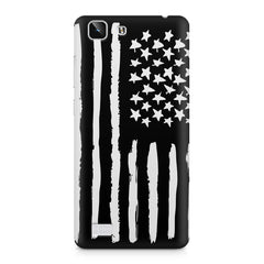 American Flag design Vivo X5  printed back cover