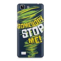 Be Unstoppable design Vivo X5  printed back cover
