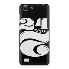 Always hustle design Vivo X5  printed back cover