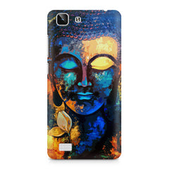 Beautiful Buddha abstract painting full of colors design  Vivo X5 hard plastic printed back cover