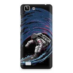 Astronaut space surfing design    Vivo X5 hard plastic printed back cover