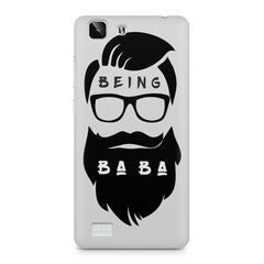 Being BaBa Design Vivo X5 hard plastic printed back cover