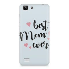 Best Mom Ever Design Vivo X5 hard plastic printed back cover
